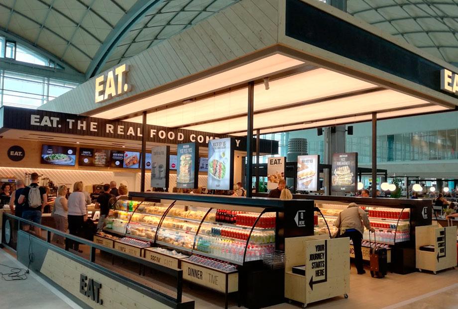 Local Eat en el Aeropuerto de Alicante