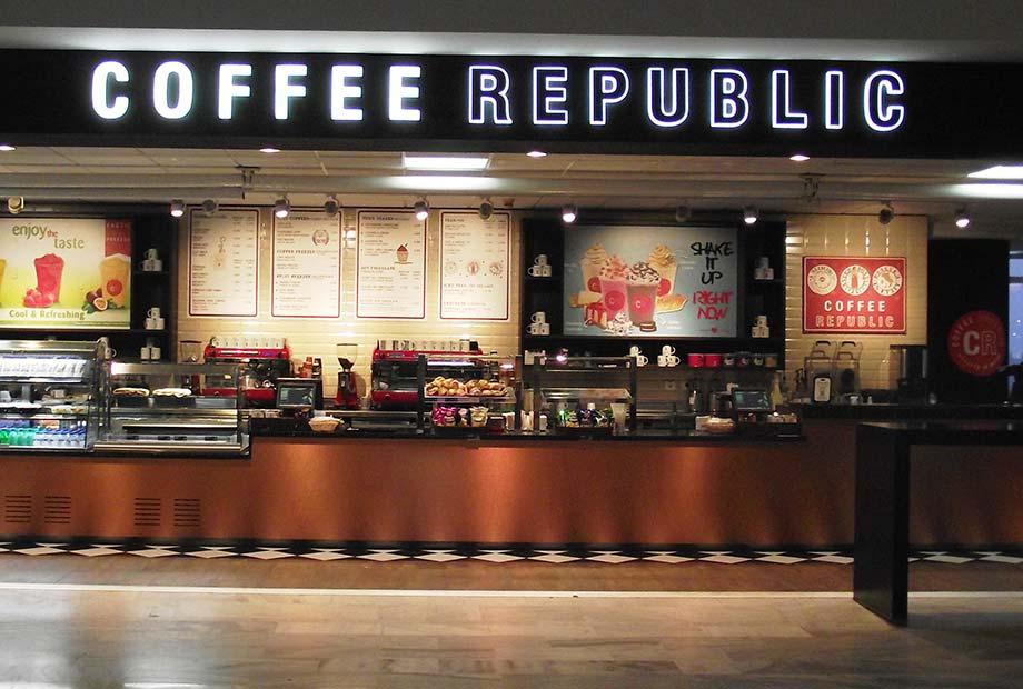 Imagen Local Coffe Republic Aeropuerto de Lanzarote