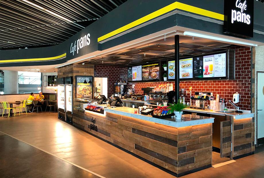 Local Pans&Company Aeropuerto de Gran Canarias