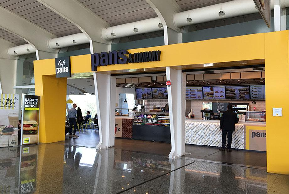Local Pans&Company Aeropuerto Bilbao