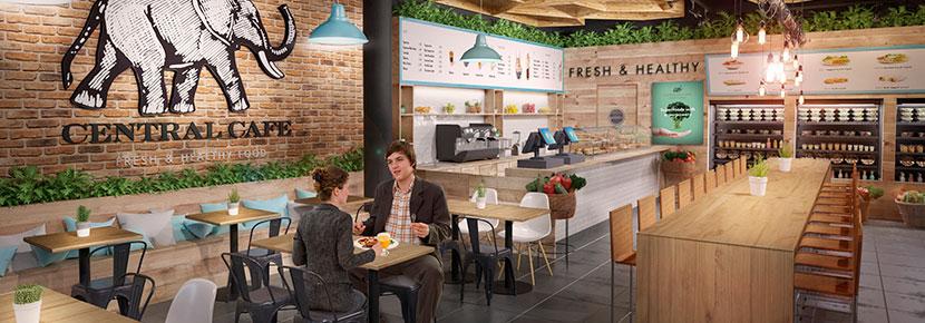 Centra Café es una franquicia de Eat out Travel