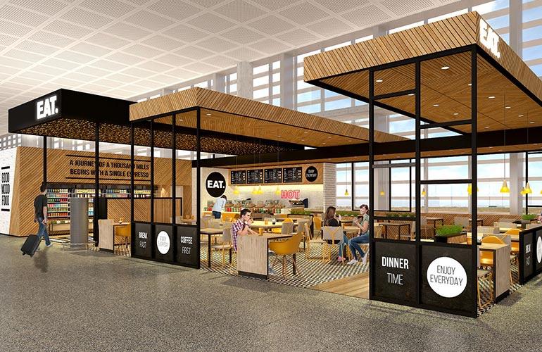 EatOut Travel gestionará 6 establecimientos en <br/>el Aeropuerto de Málaga