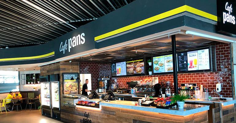 Eat Out travel abre dos establecimientos Café Pans en <br/>el Aeropuerto de Gran Canaria