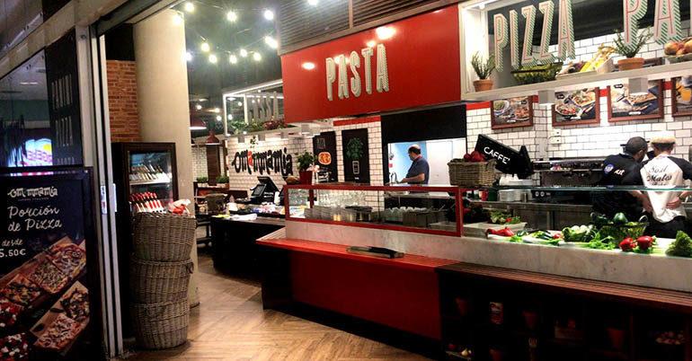 """Eat Out Travel inaugura un """"O Mamma Mia"""" en <br/>el Aeropuerto de Barcelona"""