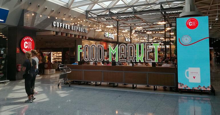 Grupo Ibersol abre un Food Market  en el Aeropuerto de Barcelona