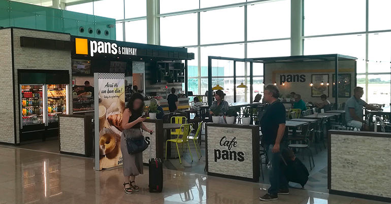 EatOut Group abre su tercer Pans&Company <br/>en el Aeropuerto de Barcelona