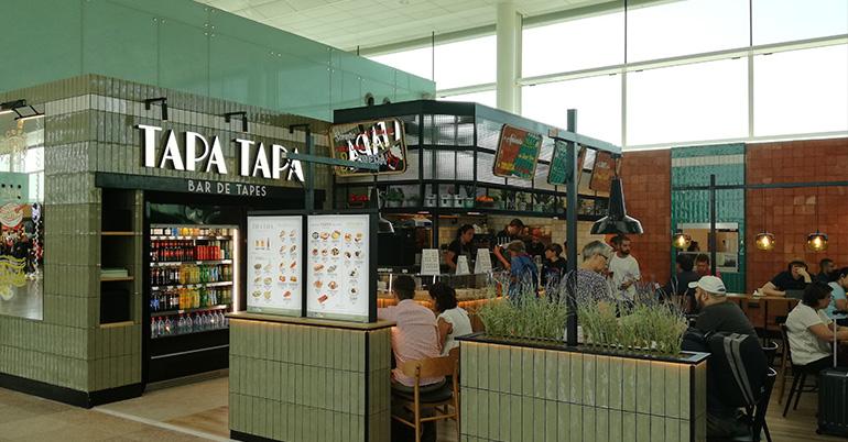 """EatOut Group abre su primer restaurante """"Tapa Tapa"""" en un Aeropuerto"""