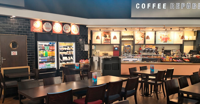 Coffe Republic en el Aeropuerto de Barcelona - Travel Eat out