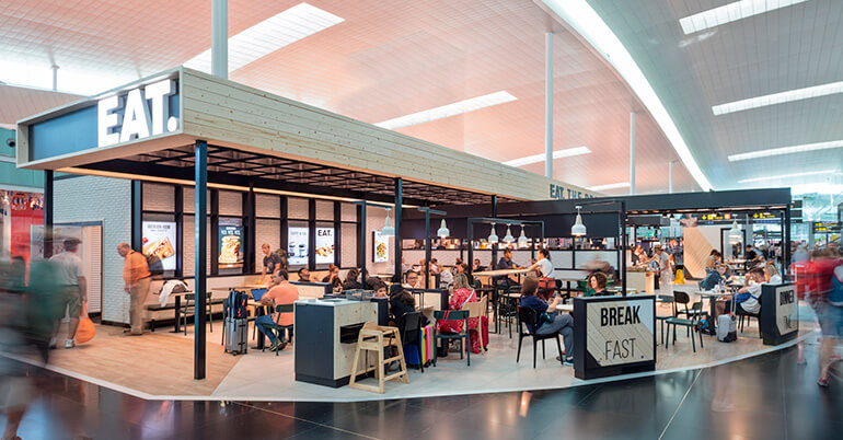 Grupo Ibersol abre un nuevo Eat. en el <br/>Aeropuerto de Barcelona
