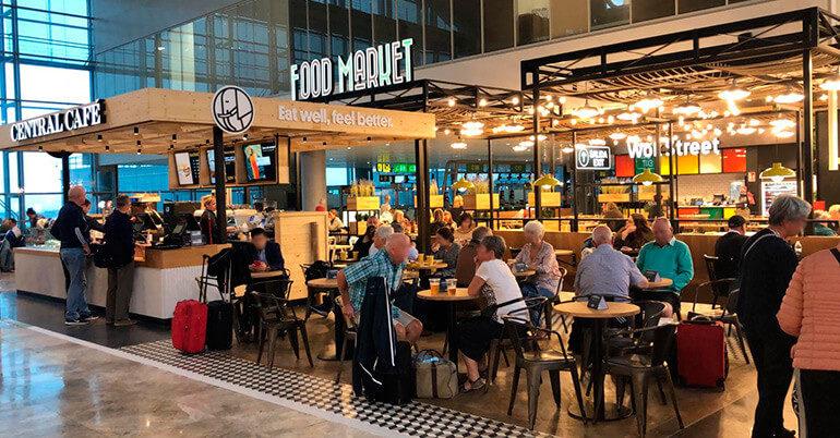 Grupo Ibersol inaugura un espacio Food Market en el Aeropuerto de Alicante